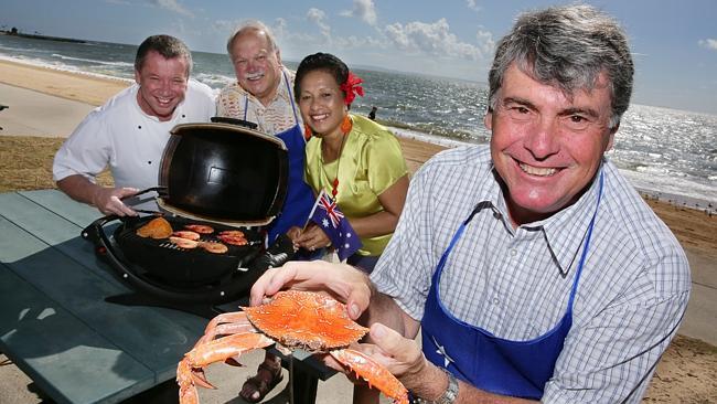 Australia Day seafood BBQ