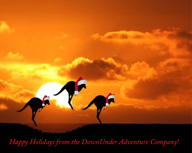Happy Holidays from the DownUnder Adventure Company