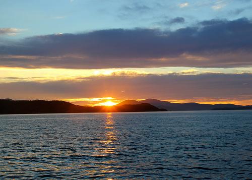 Sunset Stewart Island